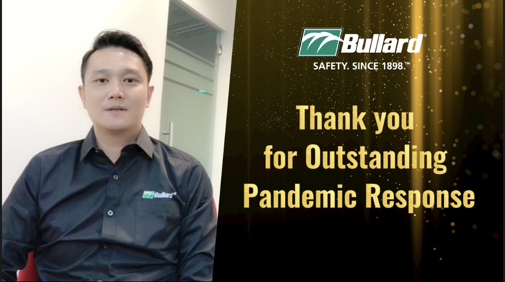 Bullard Presents Outstanding Pandemic Response Recognition to Channel Partners